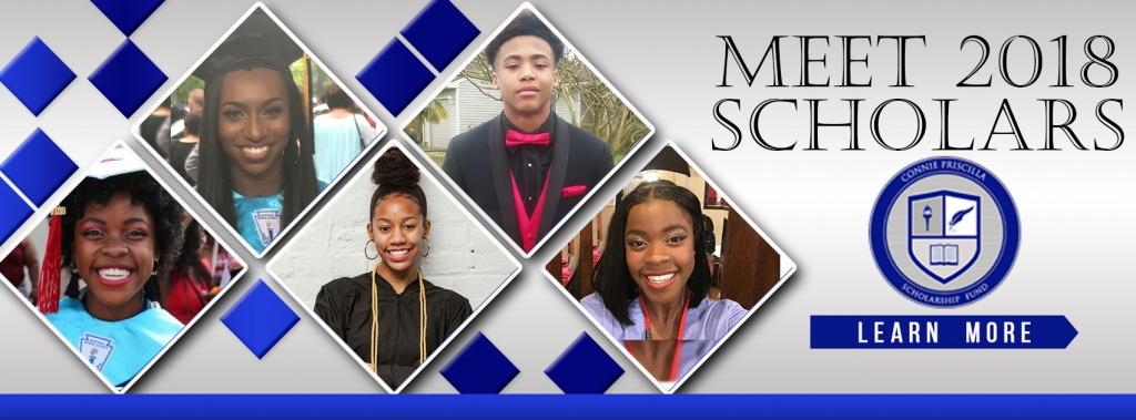 2018 Connie Priscilla Scholars